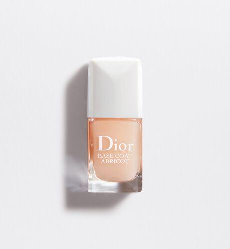 Dior - Base Coat Abricot Protective nail care base fortifying & hardening