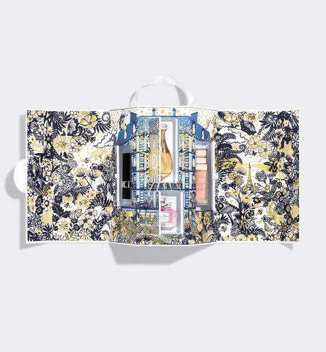 Dior - ディオール モンテーニュ コフレ<ホリデー2021>(オンライン数量限定品) ディオールを代表するフレグランス・スキンケア・メイクアップのアイコン4製品のミニチュアがセットされた贅沢なコフレ