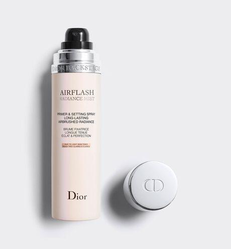 Dior - Dior Backstage Airflash Radiance Mist Primer & setting spray long-lasting airbrushed radiance