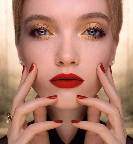 Dior - ルージュ ディオール <アトリエ オブ ドリームズ> (クリスマス コレクション 2021 数量限定品) クチュール カラー リップスティック - フローラル リップケア&持続する心地よさと発色 - 3 aria_openGallery