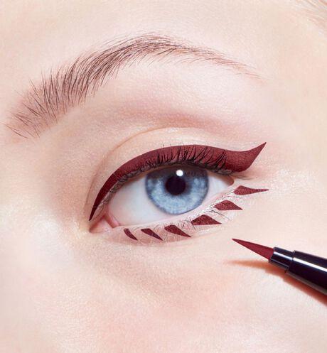 Dior - Diorshow On Stage Liner Felt-tip eyeliner - 2 Open gallery