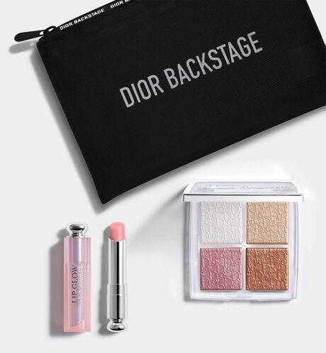 Dior - Dior Backstage Ready To Glow Runway professional makeup set - natural glow - face and lips