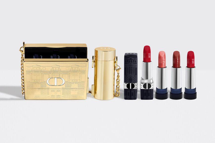 Dior - DIOR藍星唇膏金緻珠寶盒 精緻鍊帶&口紅手拿包–限量唇膏 aria_openGallery