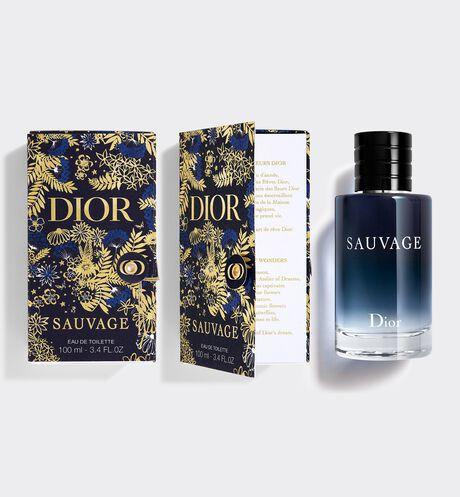 Dior - Sauvage Eau De Toilette Gift case - Eau de Toilette - citrus and woody notes
