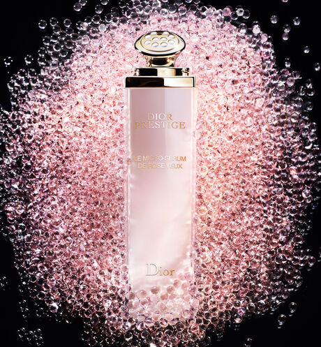 Dior - Dior Prestige Le Micro-Sérum de Rose Yeux Illuminating micro-nutritive eye serum - visibly reduces the appearance of dark circles and under-eye puffiness - 2 Open gallery