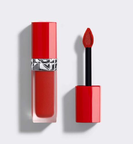 Dior - Rouge Dior Ultra Care Liquid Жидкая помада для губ с цветочным маслом - Невесомое покрытие с бархатным эффектом.