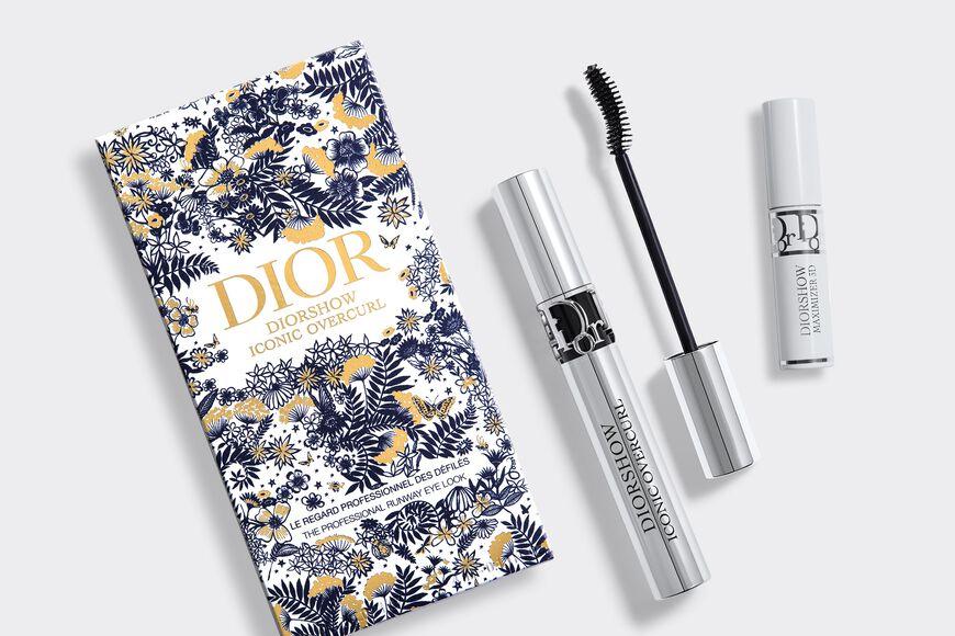 Dior - Diorshow Iconic Overcurl Set The professional runway eye look - lash primer-serum & mascara Open gallery