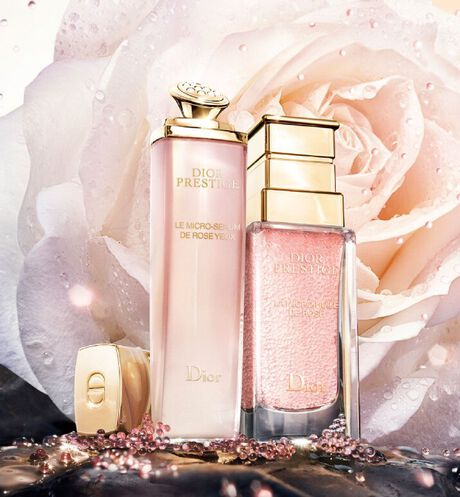 Dior - Dior Prestige Le Micro-Sérum de Rose Yeux Illuminating micro-nutritive eye serum - visibly reduces the appearance of dark circles and under-eye puffiness - 6 Open gallery