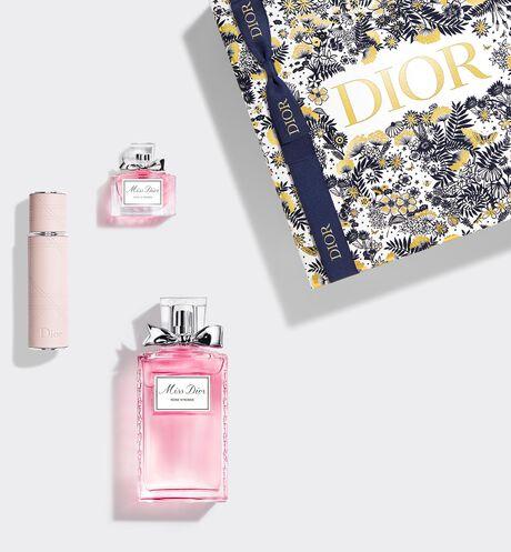 Dior - Miss Dior Rose N'Roses Set Gift set - eau de toilette, travel spray and mini fragrance