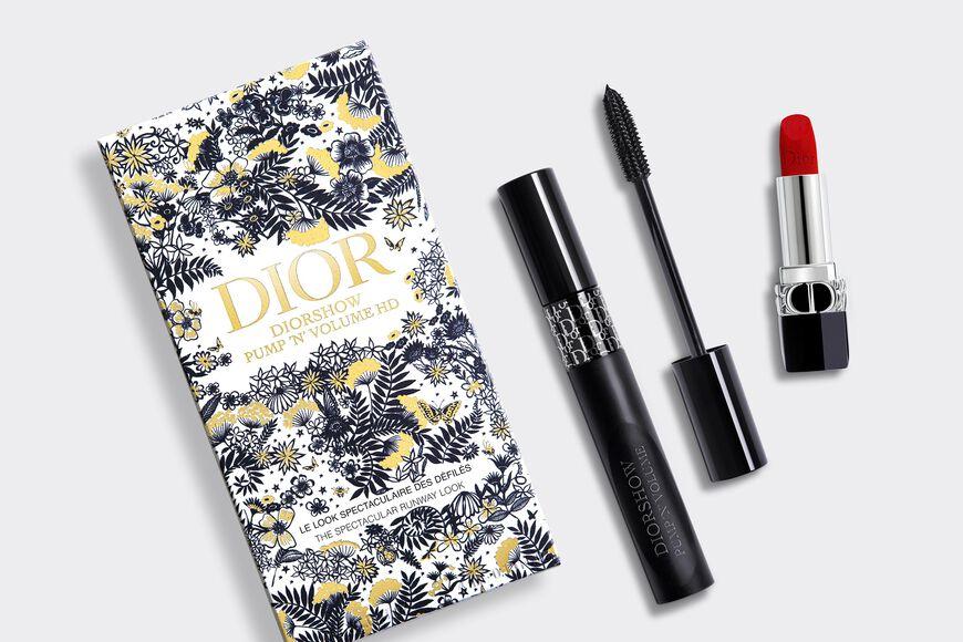 Dior - Diorshow Pump 'N' Volume Set Makeup set - mascara & lipstick Open gallery