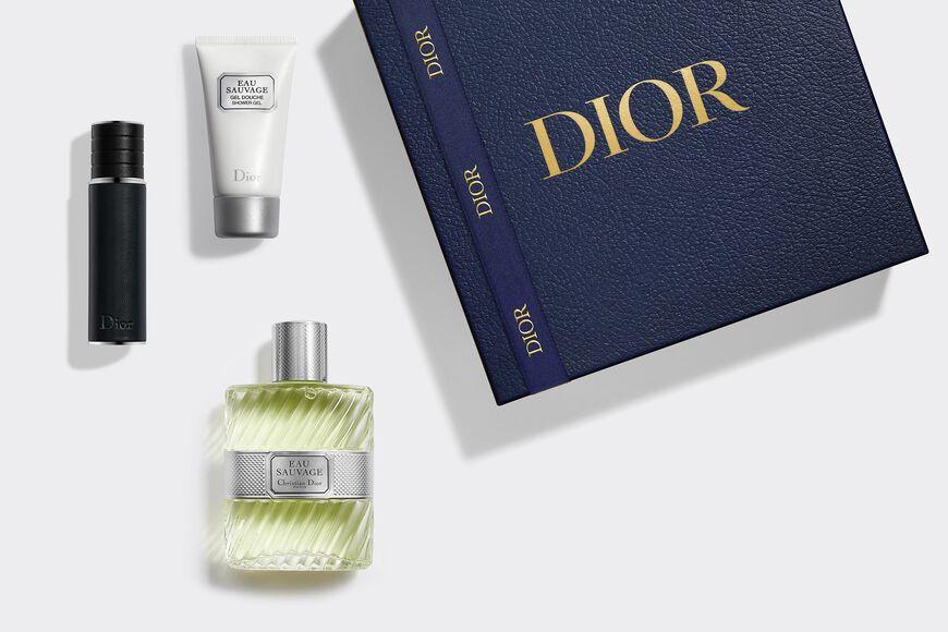 Dior - Eau Sauvage Set Gift set - eau de toilette, travel spray and shower gel Open gallery