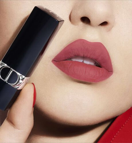 Dior - Rouge Dior - Limited-Edition Couture Collection Lipstick - engraved couture ribbon motif - velvet finish - 2 Open gallery