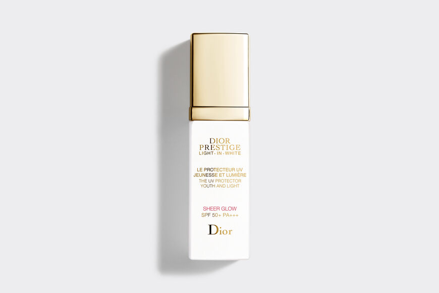 Dior - Dior Prestige Light-in-White The uv protector youth and light - sheer glow spf 50+ pa+++ Open gallery