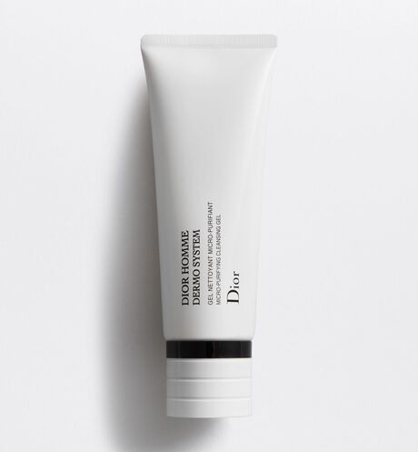 Dior - Dior Homme Dermo System Micro-Purifying Cleansing Gel - Bio-Fermented Ingredient & Vitamin E Phosphate