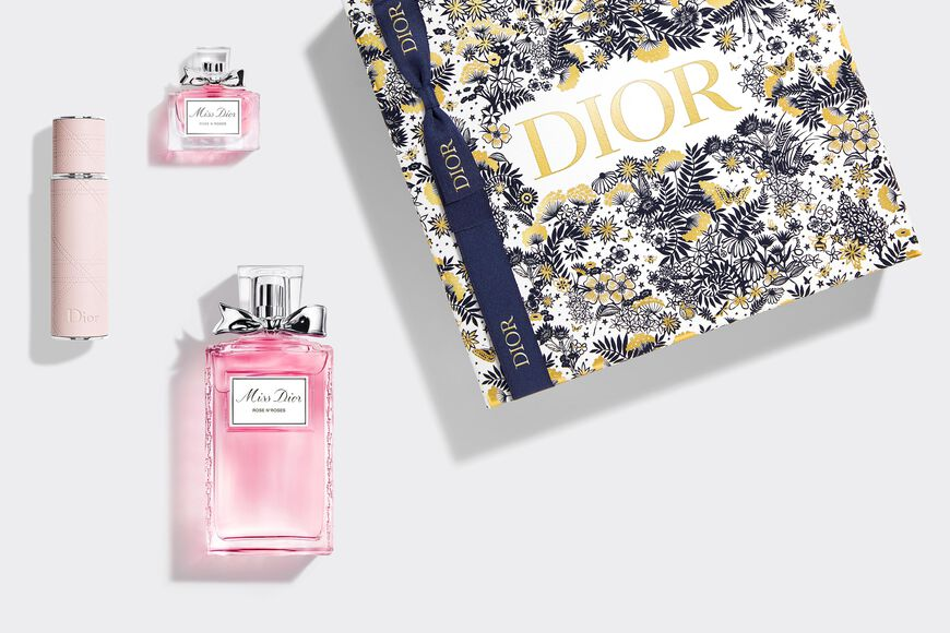 Dior - Miss Dior Rose N'Roses Set Gift set - eau de toilette, travel spray and mini fragrance Open gallery