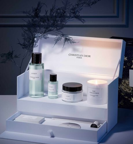 Dior - Lucky Luxury Set Art of living gift set - fragrances, body cream, soap, candle and accessories