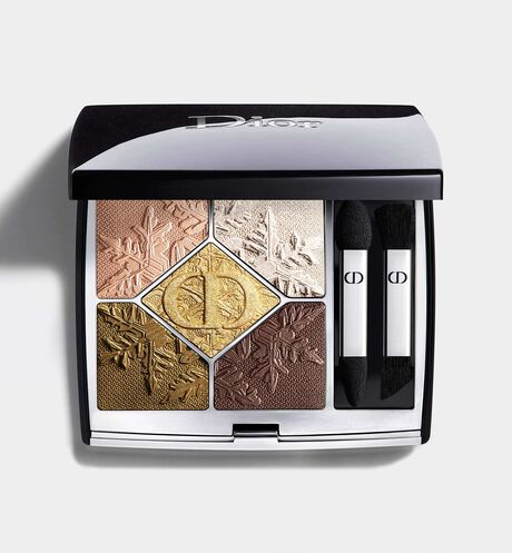 Dior - 5 Couleurs Couture - Golden Nights Collection Limited Edition Eyeshadow palette - high-color - long-wear creamy powder