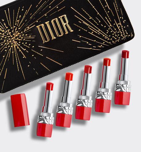 Dior - Coffret Rouge Dior Ultra Rouge Coffret maquillage - 5 rouge à lèvres