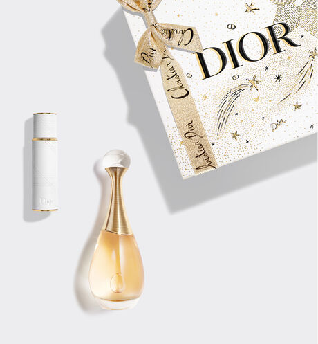 Dior - J'adore The iconic fragrance and its travel spray in a gift set.