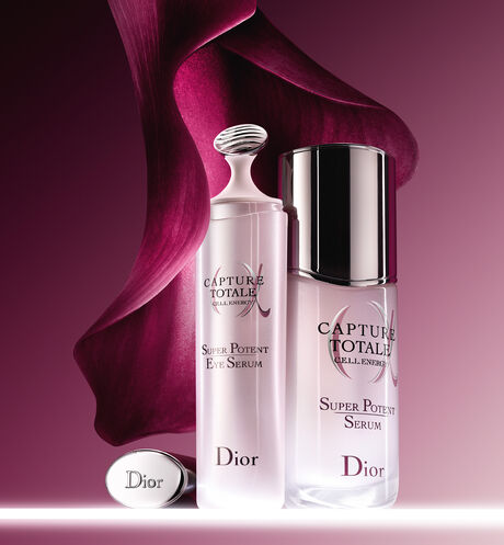 Dior - Capture Totale Super Potent Eye Serum Super eye contour serum - total anti-fatigue age-defying eye serum - 5 Open gallery