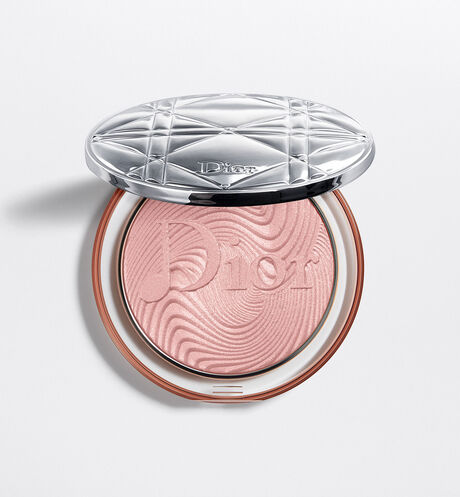 Dior - Diorskin Nude Luminizer Glow Vibes. Лимитированная коллекция Хайлайтер. Сияющая пудра со сверкающими пигментами