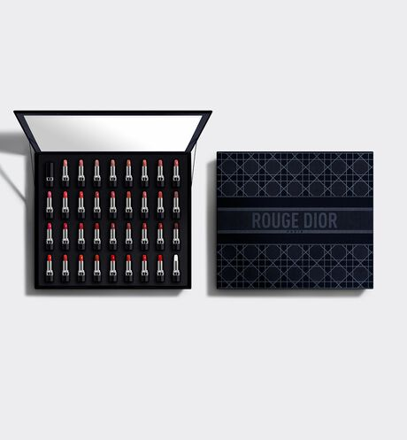 Dior - Collection Set 35 Rouge Dior Deluxe Collection - 34 Lipsticks and 1 Lip Balm - Couture Color and Floral Lip Care