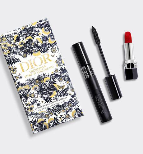 Dior - Diorshow Pump 'N' Volume Set Make-up set - mascara & lipstick