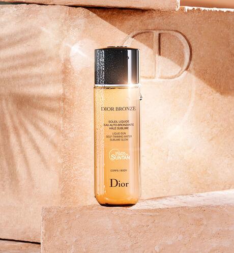 Dior - Dior Bronze Liquid sun - self-tanning water - sublime glow - 2 Open gallery