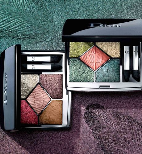 Dior - 5 Couleurs Couture - Limited Edition Eyeshadow palette - high color - long-wear creamy powder - 2 Open gallery