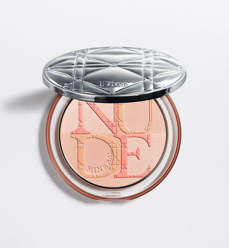 Dior - ディオールスキン ミネラル ヌード グロウ パウダー ハイライト効果と肌色補正効果をあわせ持つパウダー