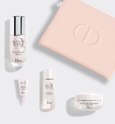 Dior - Capture Totale Le rituel intense anti-âge global - lotion-sérum, sérum, soin regard, crème fermeté