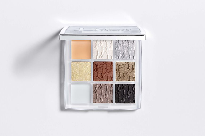 Dior - Dior Backstage - Custom Eye Palette Eyeshadow palette - high-pigment - customizable & multi-finish - primer, shadows, shimmer topper, shadow-to-liner gel Open gallery