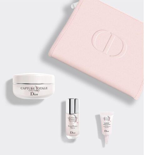 Dior - カプチュール トータル セル ENGY エッセンシャル コフレ (オンラインブティック数量限定品) ハリ – ふっくら – なめらか – くすみ(*1)のない輝きのある肌へ導くオンラインブティック限定コフレ