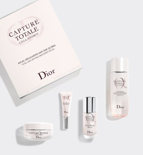 Dior - Capture Totale Total age-defying discovery ritual - lotion, serum, eye serum, face cream
