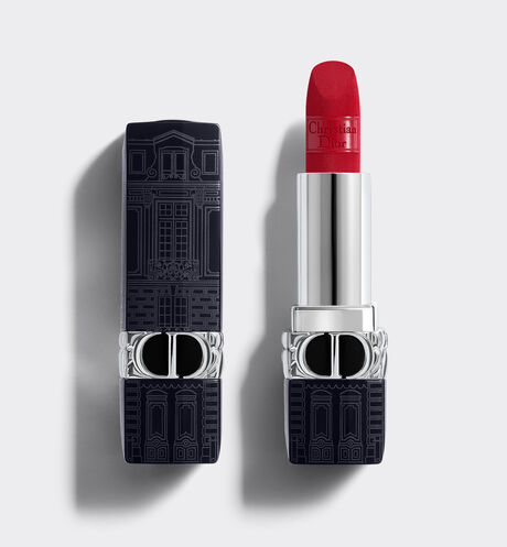 Dior - RougeDior -The Atelier Of Dreams Limited Edition Couture Color Lipstick - Floral Lip Care - Comfort and Long Wear
