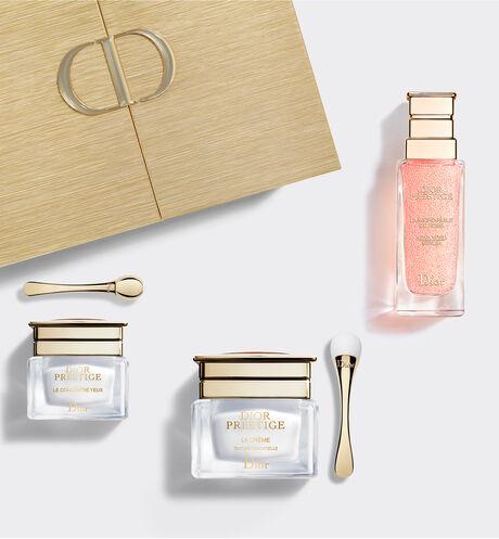 Dior - 全新DIOR精萃再生玫瑰核心保養組 完美賦活保養組合–全新精萃再生玫瑰微導精露、精萃再生花蜜乳霜、精萃再生花蜜眼霜