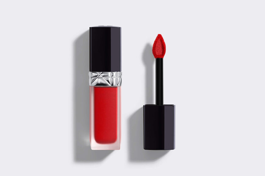 Dior - Rouge Dior Forever Liquid Transfer-proof liquid lipstick - ultra-pigmented matte - weightless comfort Open gallery