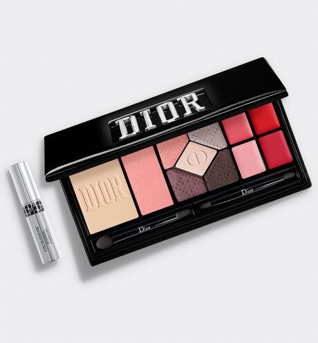 Dior - 迪奧時尚隨型全妝盤-線上獨賣 '多功能彩盤 - 眼彩、底妝、唇彩