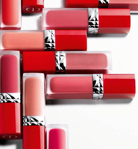 Dior - Rouge Dior Ultra Care Liquid Barra de labios líquida de tratamiento con aceite floral - duración extrema y acabado pétalo - 203 aria_openGallery
