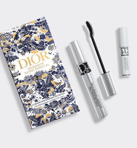 Dior - Cofre Diorshow Iconic Overcurl La mirada profesional de los desfiles - primer-sérum de máscara y máscara de pestañas