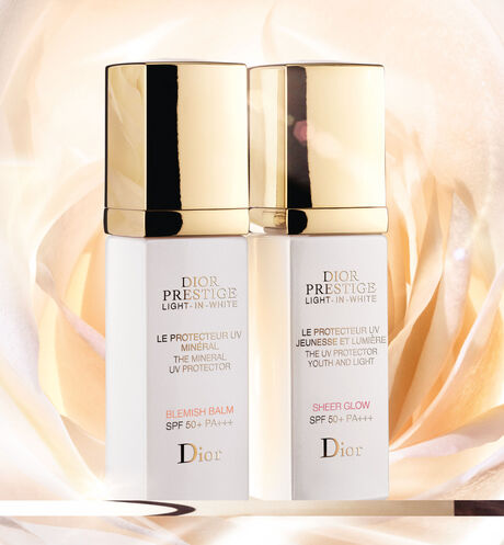 Dior - Dior Prestige Light-in-White The uv protector youth and light - sheer glow spf 50+ pa+++ - 5 Open gallery