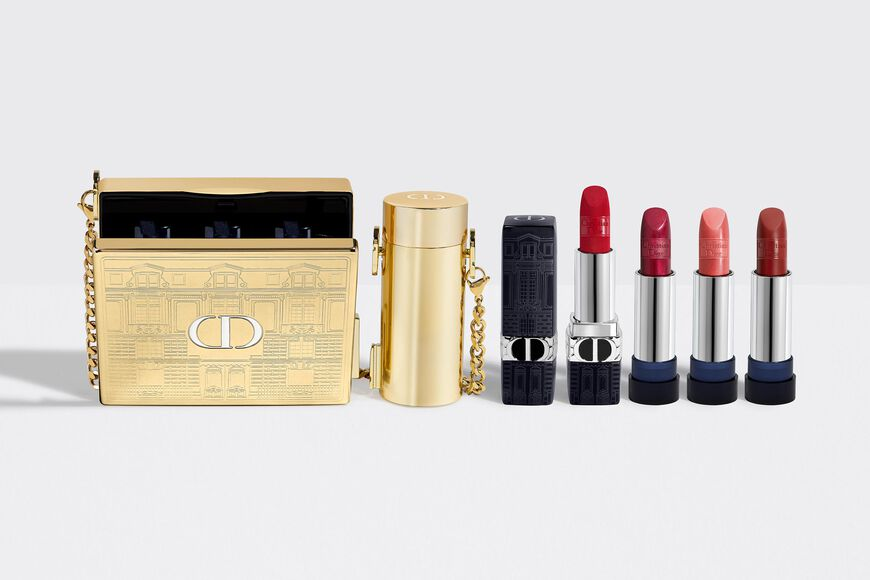 Dior - RougeDior Minaudiere -The Atelier of Dreams Limited Edition Lipstick holder & case - lipstick collection Open gallery