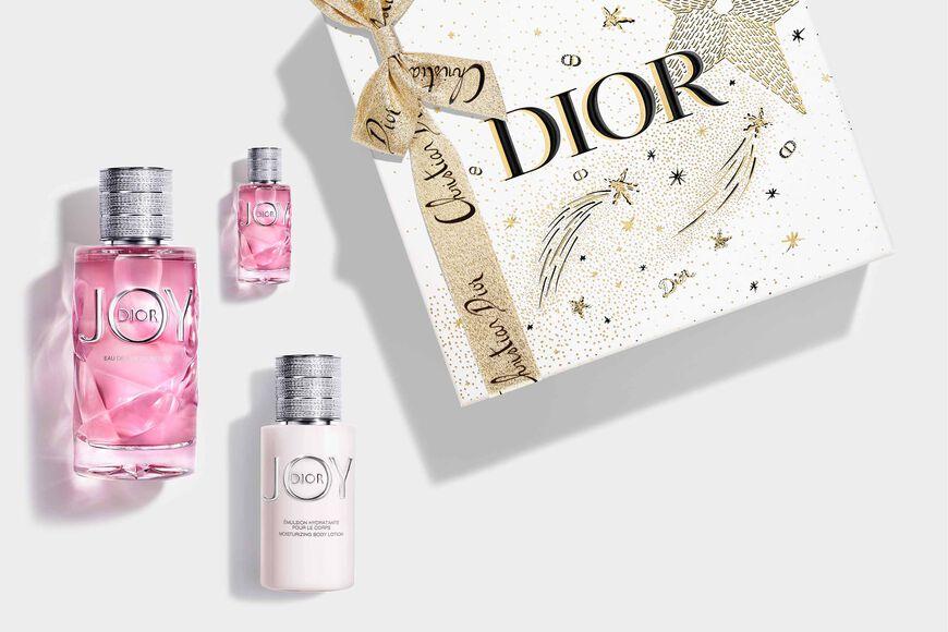 Dior - JOY by Dior Fragrance set - eau de parfum intense, body milk & fragrance miniature Open gallery